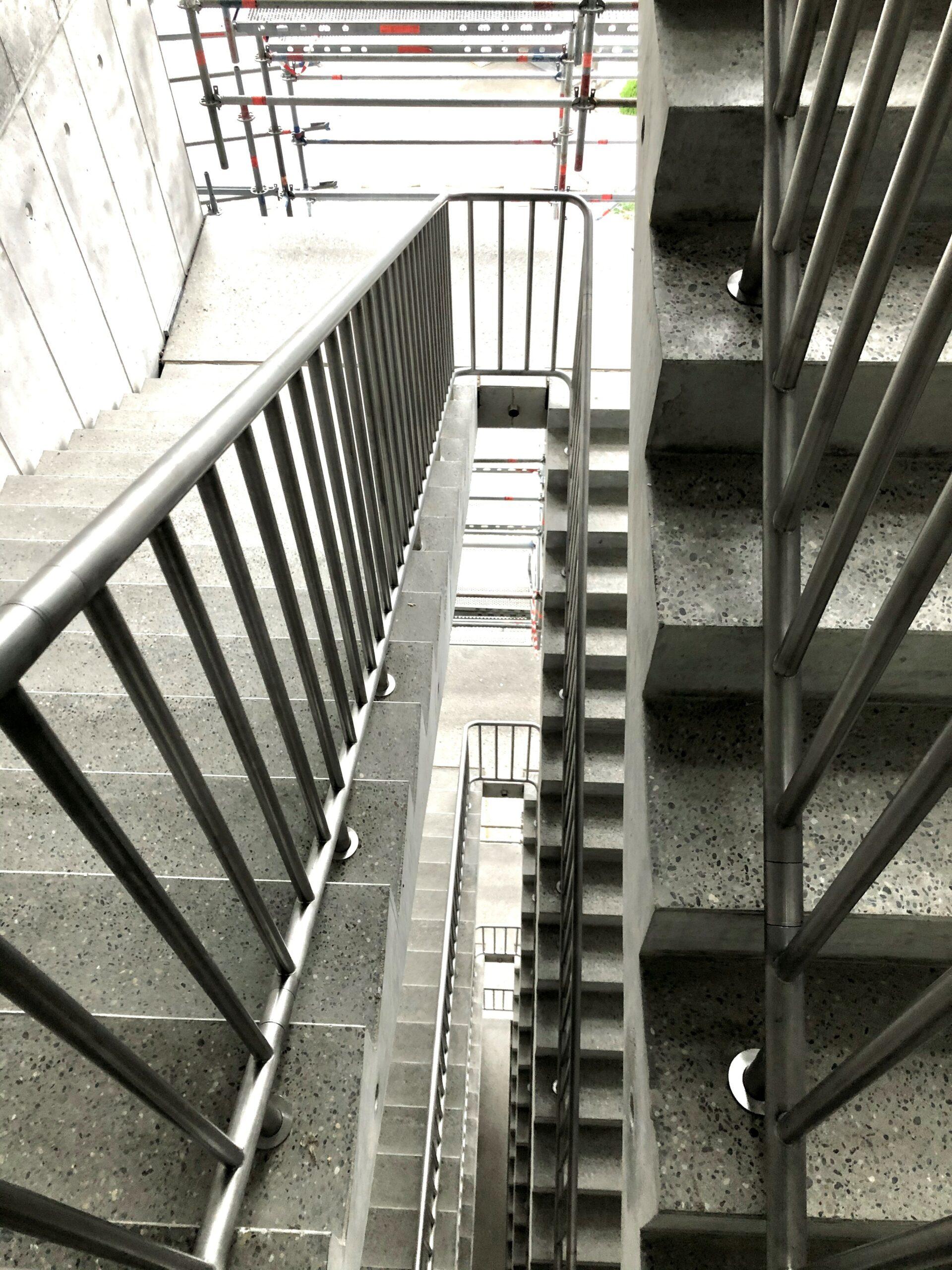 Treppenhaus wird langsam fertig…