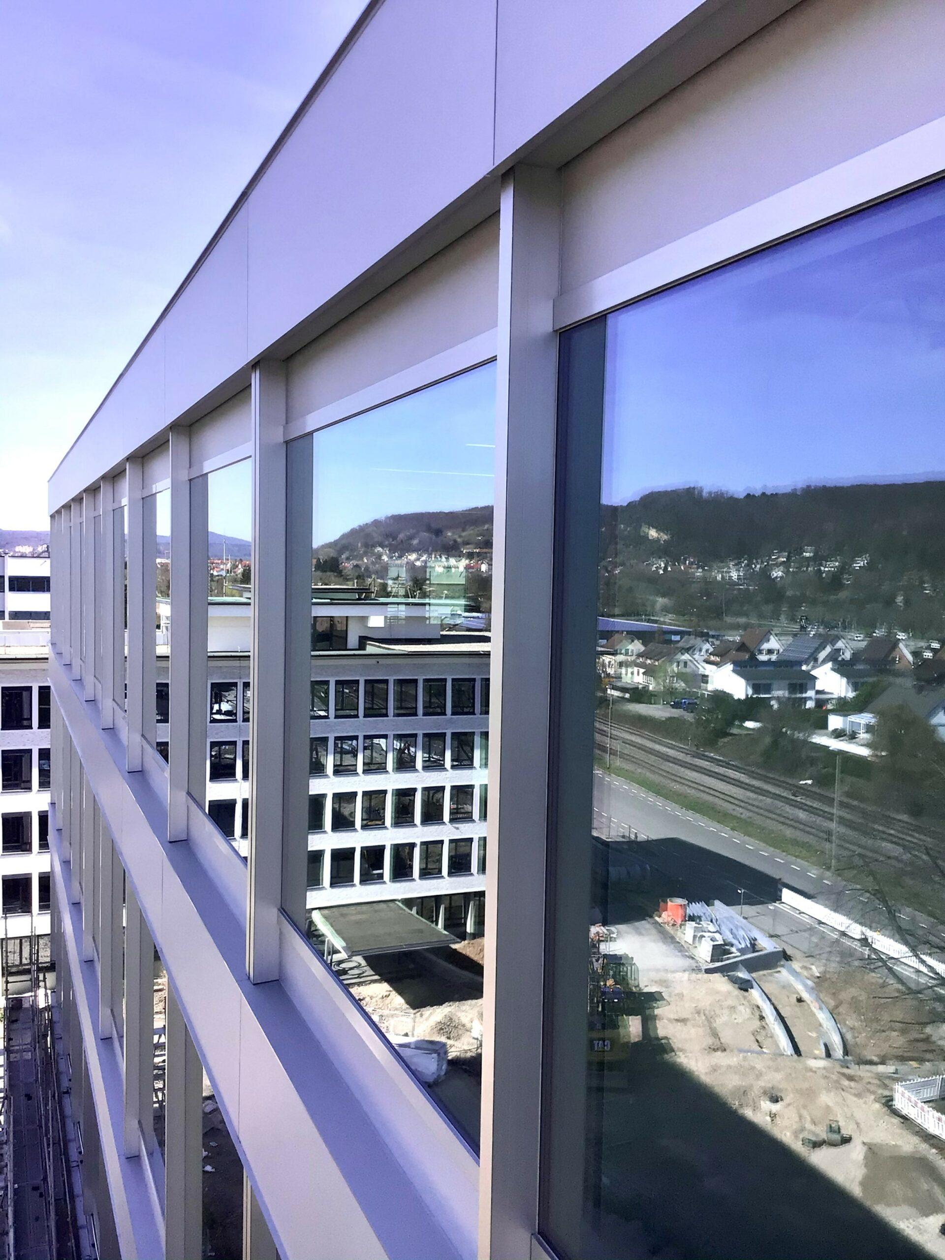 Spiegelbild Nordfassade